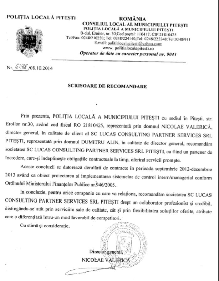 POLITIA LOCALA MUNICIPIUL PITESTI