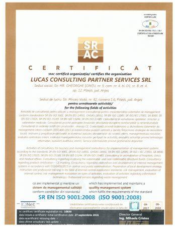 certificat SRAC